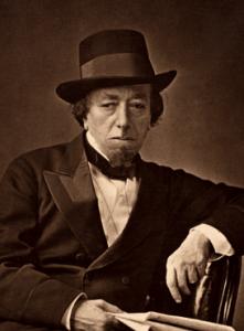 Disraeli, photographed by Cornelius Jabez Hughes in 1878