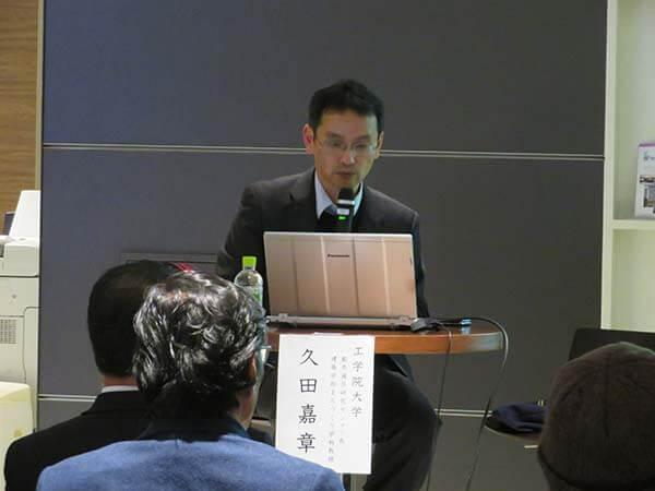 久田嘉章教授講演「災害時、逃げる必要のない建物とまちづくり」第1部