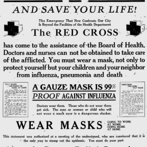 サンフランシスコ市のスペイン風邪パンデミック対策(1918年)で「マスク着用条例」を提唱した予防医学者ウイリアム・C・ハスラー博士(サンフランシスコ市保健委員会委員長)の名言 [今週の防災格言652]