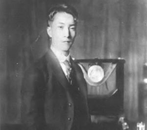 竹内時男 大正15年(32歳頃)