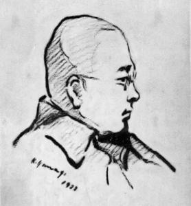 小川未明 1922年(画:柳敬助)