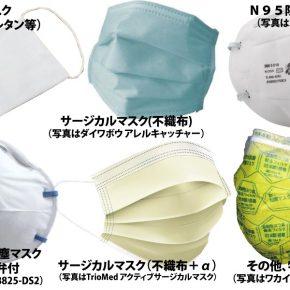 感染症対策のための「マスク論」(マスクの種類と定義のまとめと選び方)